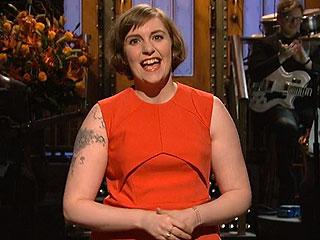 Lena Dunham's Most Hilarious SNL Moments