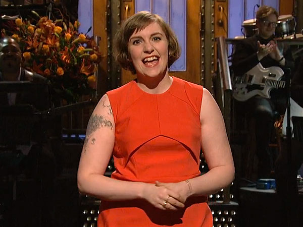 Lena Dunham Hosts Saturday Night Live