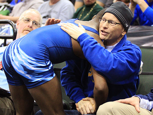 High School Wrestler's Touching Gesture After Loss Moves Crowd to Tears| Real People Stories