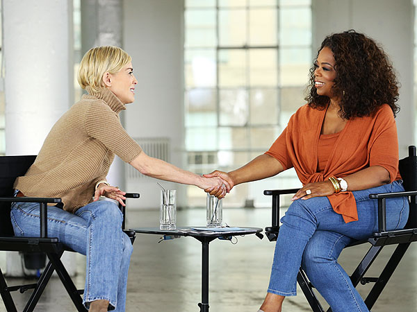 Sharon Stone Talks with Oprah of 'Aging Gracefully' | Oprah Winfrey, Sharon Stone