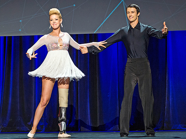Adrianne Haslet-Davis, Boston Bombing Survivor, Performs for First Time