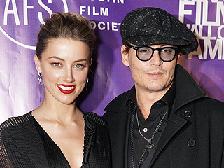 Johnny Depp and Amber Heard Throw Engagement Party | Amber Heard, Johnny Depp