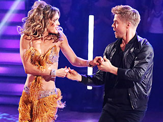 DWTS' Amy Purdy: Having Prosthetic Legs Has Its Advantages | Amy Purdy, Derek Hough