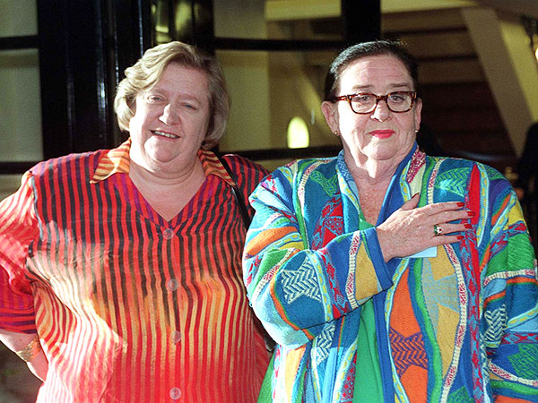 Clarissa Dickson Wright of Two Fat Ladies Dies