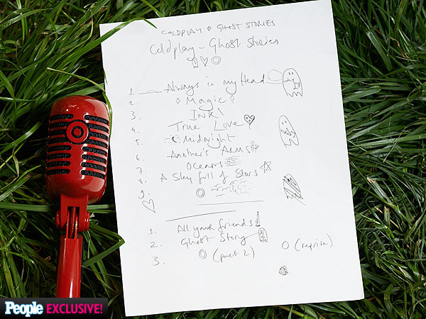 See Coldplay's Handwritten Ghost Stories Tracklist| Coldplay, Mylo Xyloto, The Voice, Music News, Chris Martin, Target