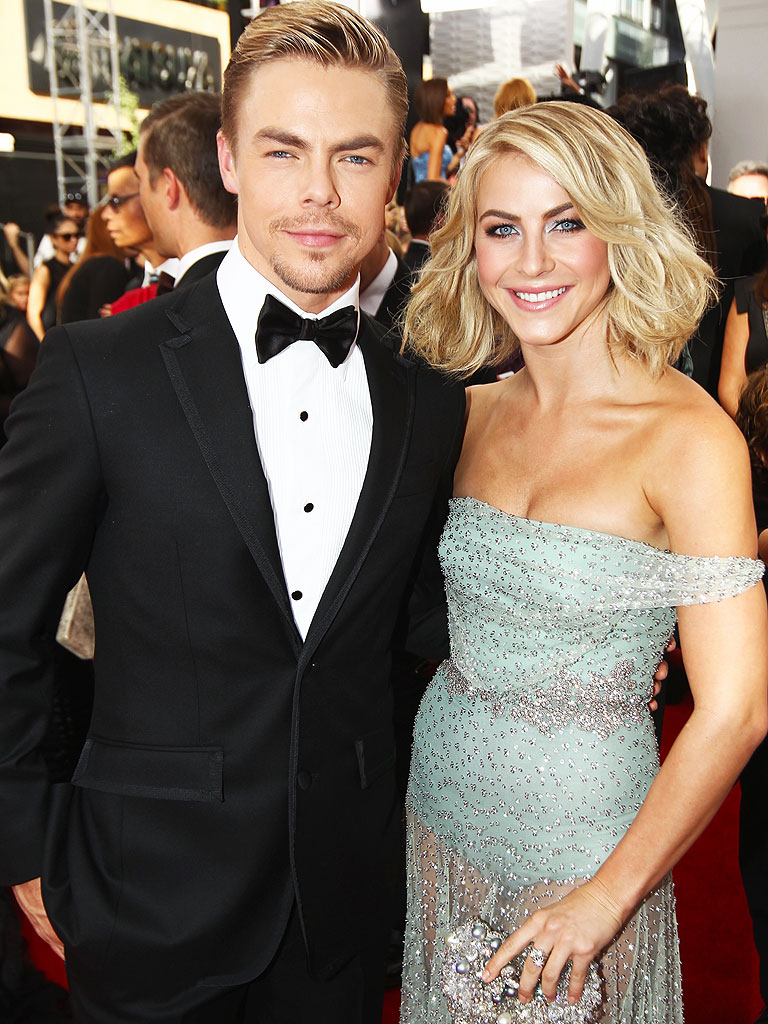 derek and julianne hough dance together for move live on