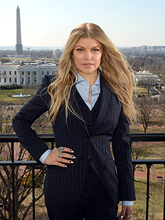 Fergie Avon Foundation for Women White House Son Axl Style