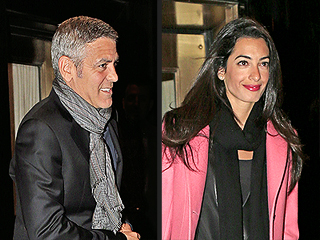 George Clooney Steps Out with Amal Alamuddin in New York City