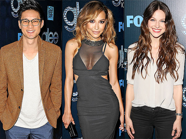 Glee's Harry Shum, Jr., Naya Rivera, Melissa Benoist Talk Wedding Prep