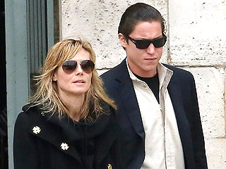 PHOTO: Heidi Klum and Vito Schnabel Step Out in Paris | Heidi Klum