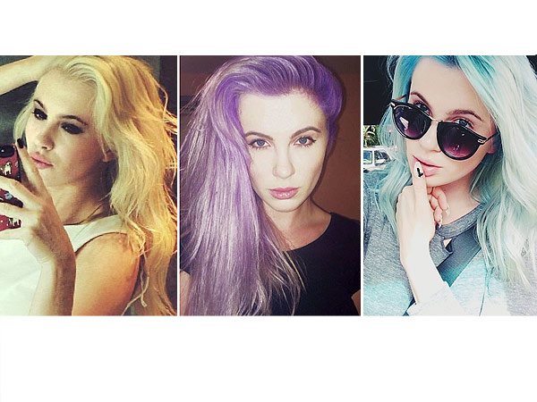 Ireland Baldwin Blue Hair