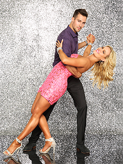 Peta's DWTS Blog: 'It's a Very Strange Feeling' with a New Partner | James Maslow