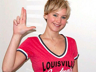 Hoops Fan Jennifer Lawrence Goes 'Mad' for Louisville Basketball