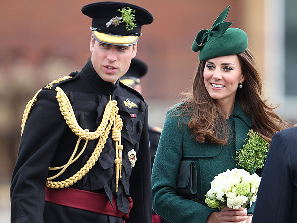 See Prince William and Kate All Decked Out for St. Patrick's Day| St. Patrick's Day, The British Royals, The Royals, Kate Middleton, Prince William