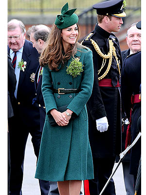 See Prince William and Kate All Decked Out for St. Patrick's Day