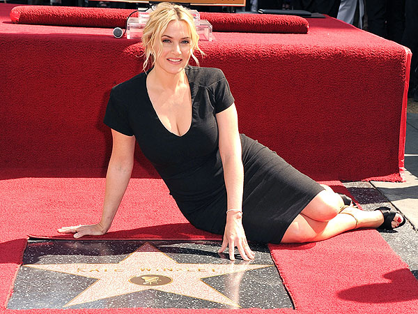 Kate Winslet Hollywood Walk of Fame