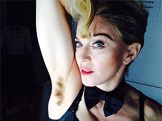 PHOTO: Madonna Proudly Shows Off Hairy Armpit