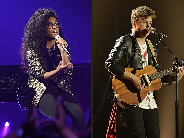 American Idol: Malaya Watson and Alex Preston Shine