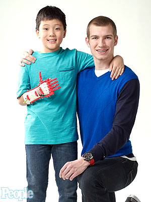 Heroes Among Us: Kansas Teen Builds a Prosthetic Hand – for $60