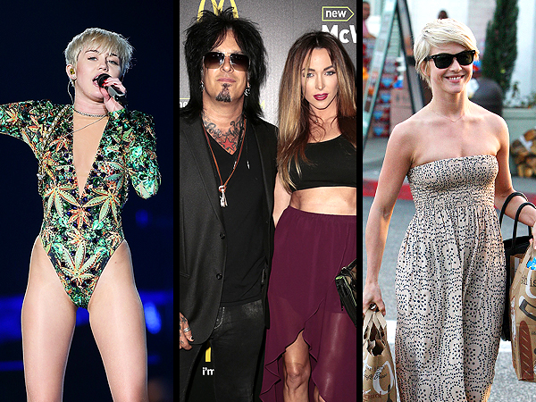 A Mötley Crüe Wedding, Miley's Fur-ocious Tattoo & More Weekend News