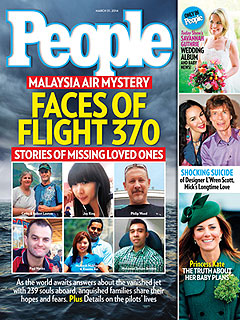 The Faces of Flight 370: Stories of the Missing