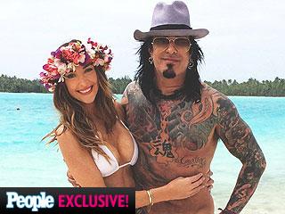 Nikki Sixx Honeymoons in Bora