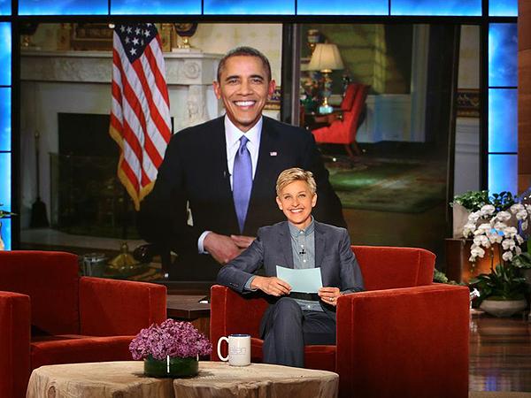 President Obama Ribs Ellen DeGeneres About Oscars Selfie