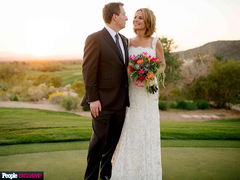 Savannah Guthrie Wedding Date