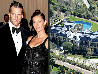 Tom Brady and Gisele Bündchen Put Their Massive Brentwood Estate on the Market | Gisele Bundchen, Tom Brady