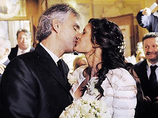 Andrea Bocelli Marries Longtime Love in Italy