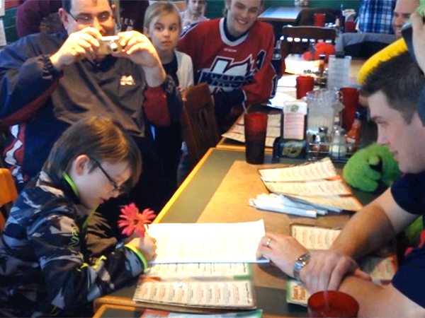 How a Pro Hockey Team Made a Lonely Boy's Birthday Special