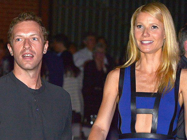 Gwyneth Paltrow and Chris Martin Step Out Together Looking  'Lovey-Dovey,' Says Source