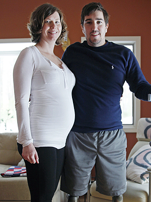 Boston Bombing Survivor Who Lost Both Legs Is Engaged and Becoming a Dad