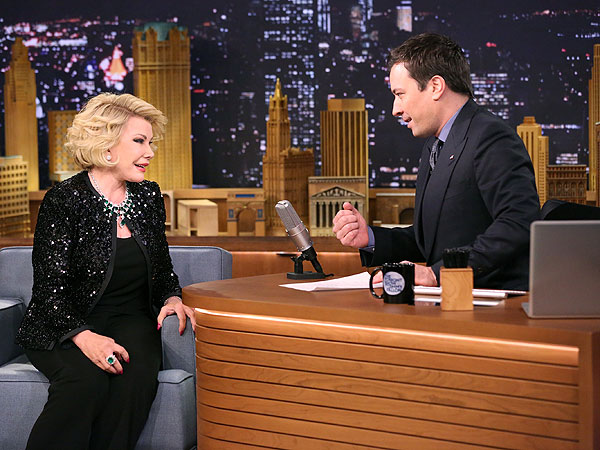Watch Joan Rivers Return to Tonight Show Couch for the First Time in 26 Years