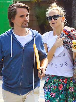 Kate Hudson & Matthew Bellamy Reunite Following Relationship Rough Patch