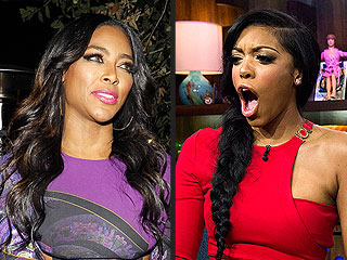 RHOA Reunion: Porsha Williams Pulls Kenya Moore to the Floor