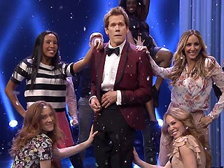 WATCH: Kevin Bacon Busts Out Footloose Dance on The Tonight Show
