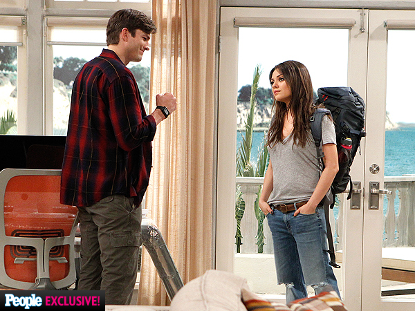 See Ashton Kutcher and Mila Kunis Together Again Onscreen| Two and a Half Men, Ashton Kutcher, Mila Kunis