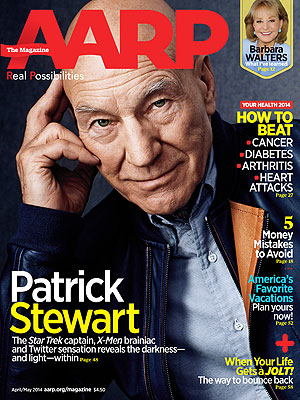 Patrick Stewart: 5 Things to Know About the X-Men Star| X-Men: Days of Future Past, Ian McKellen, Patrick Stewart, RolesClass