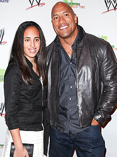 Dwayne 'The Rock' Johnson's Daughter Uses His Old Wrestling Insults on Him | Dwayne ''The Rock'' Johnson