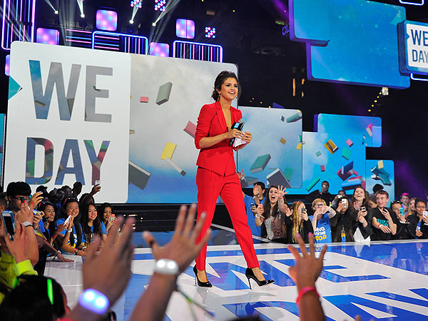 Selena Gomez Speaks Out at We Day Conference About Pressure, Self-Acceptance
