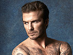 David Beckham Strips Down to Model His (Very Tiny) Swimwear Collection