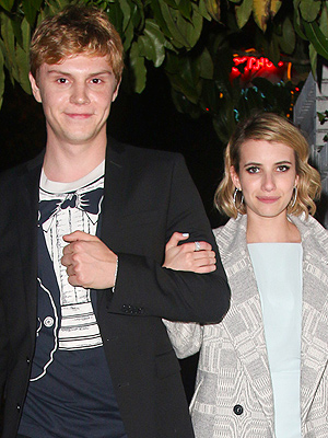 Evan Peters and Emma Roberts: The Actor Shares What It's Like to Work Together