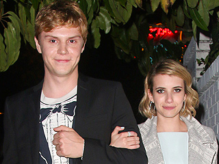 Evan Peters: Working with Fiancée Emma Roberts is 'Awesome'
