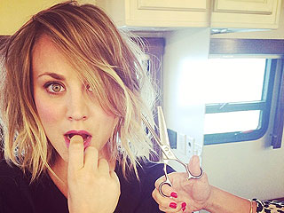 Kaley Cuoco Shows Off Fresh New Hairstyle | Kaley Cuoco, Norman Cook