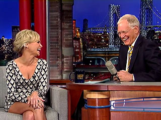 Watch David Letterman's Heart-Stopping Prank on Kristin Chenoweth | David Letterman, Kristin Chenoweth