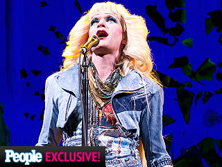 FIRST LOOK: Neil Patrick Harris Rocks a Mini and Heels for Hedwig