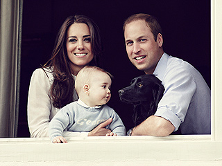 See Prince George (and Lupo!) in a Brand New Royal Family Photo