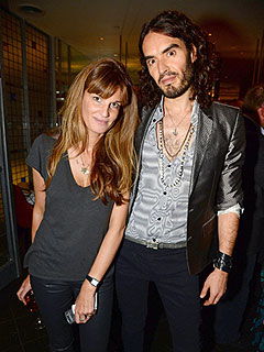 Russell Brand Is Sexy and Fun for  Jemima Khan, Says Source | Jemima Khan, Russell Brand