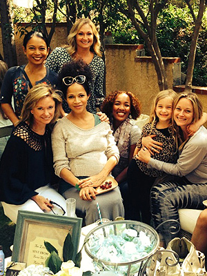 Sherri Saum Twin Sons Baby Shower